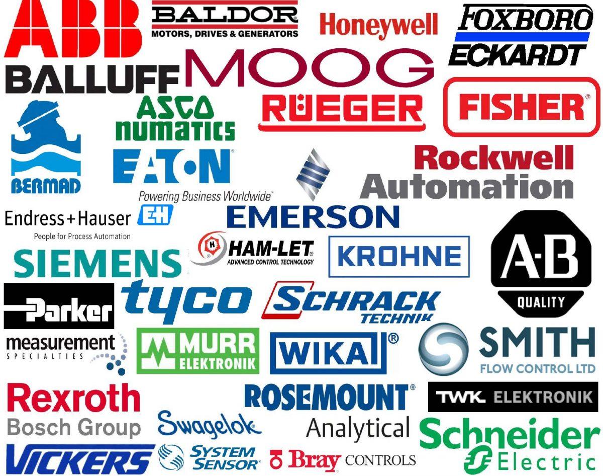 Instrumentation Manufacturers' Logos
